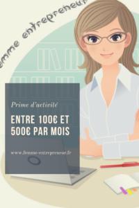Toucher La Prime D Activite En Tant Qu Entrepreneur Femme