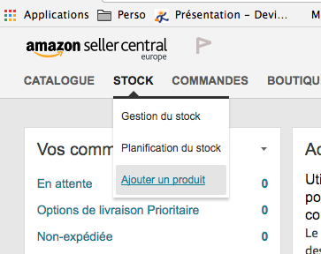 gestion de stock amazon