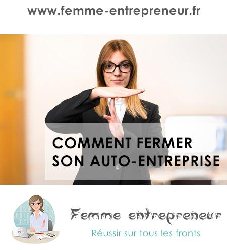 Fermer votre auto entreprise