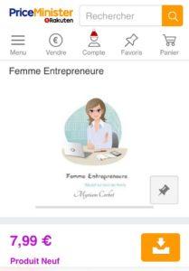 Guide Femme Entrepreneure Rakuten Kobo