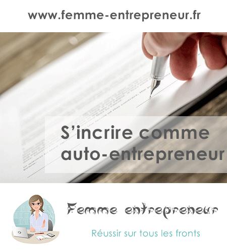s'inscrire auto entrepreneur