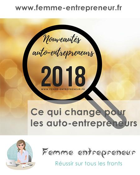 Ce qui change pour les auto-entrepreneurs en 2018