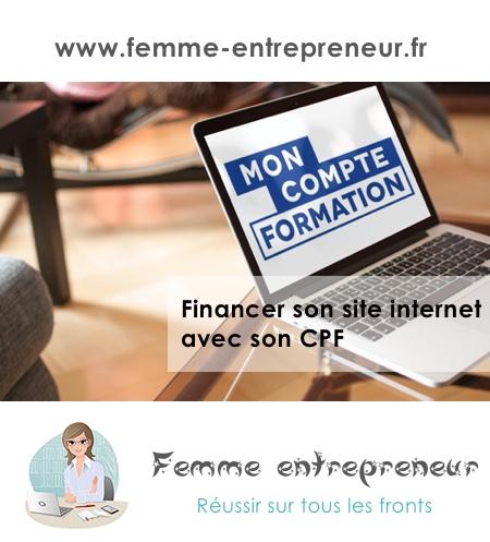 financer son site internet avec son CPF